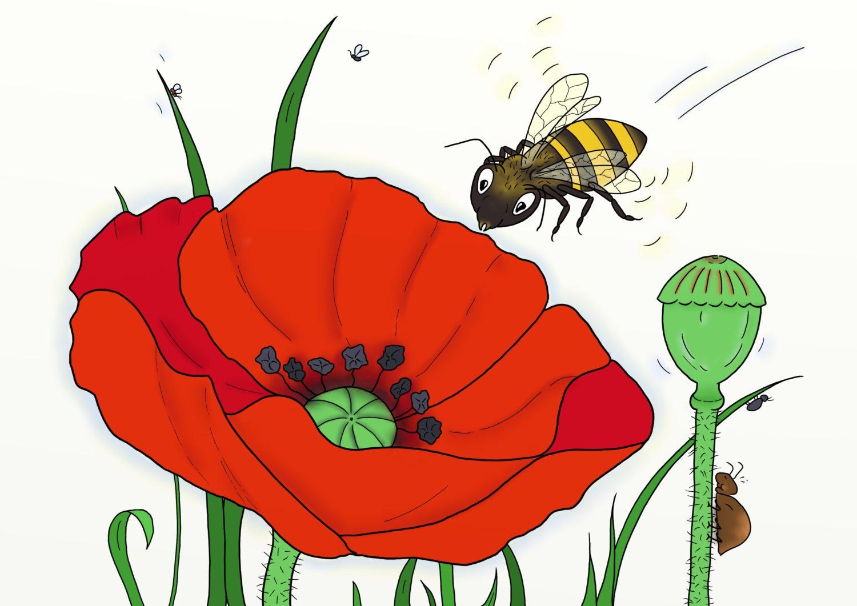 Die kleine Biene Philomena und die Pestizide