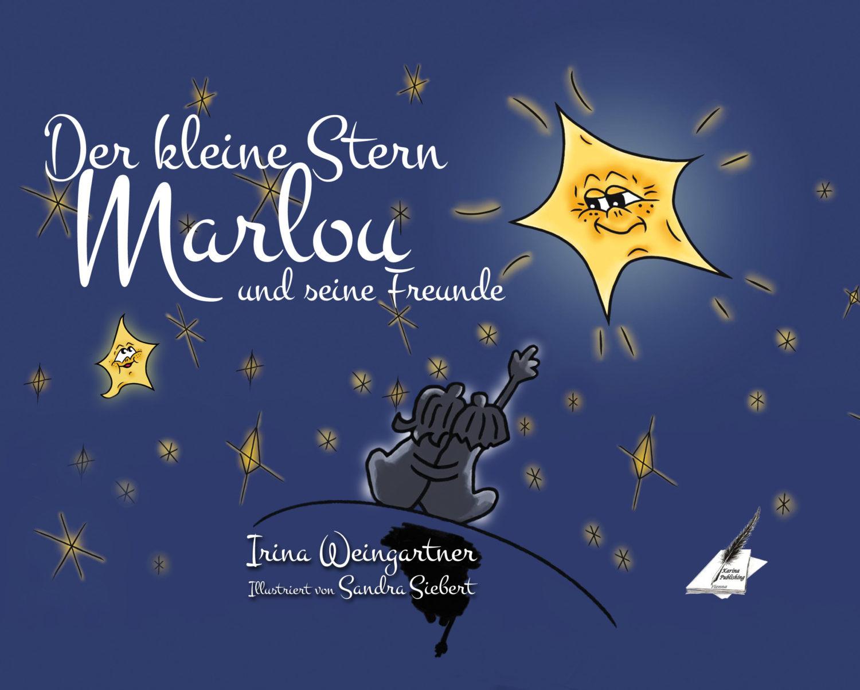 Der kleine Stern Marlou und seine Freunde_Cover Vorderseite